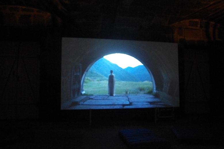 Luys i luso immersive installation. Photo credits: Setrag Shahikian