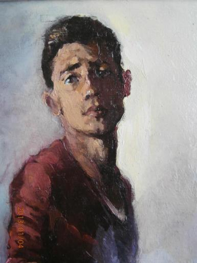 Self portrait, 2013